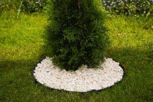 Бордюр ландшафтный пластиковый, высота 45 мм